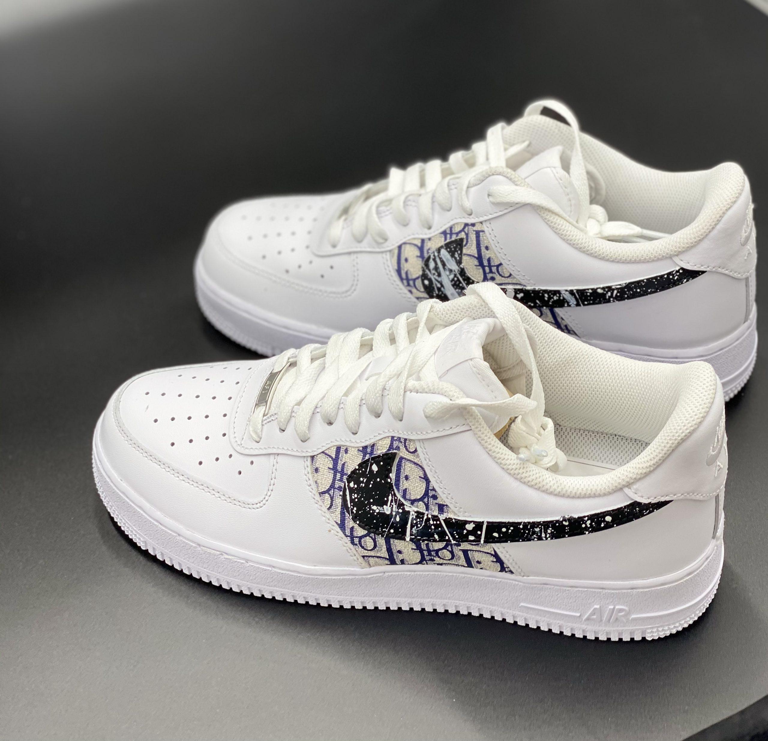Nike air force x Marinenblau Dio x speziall swoosh   Kauf günstig